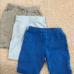 Lot of 3 baby boy pants.